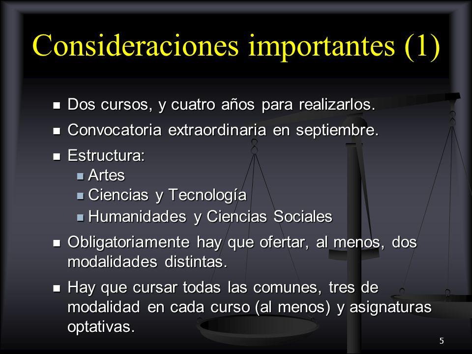 6 Áreas de conocimiento en bachillerato (I) Materias comunes Materias comunes Ciencias para el mundo contemporáneo (3h) (I) Ciencias para el mundo contemporáneo (3h) (I) Educación física (2h) (I) Educación física (2h) (I) Filosofía y ciudadanía (3h) (I) Filosofía y ciudadanía (3h) (I) Historia de la filosofía (3h) (II) Historia de la filosofía (3h) (II) Historia de España (3h) (II) Historia de España (3h) (II) Lengua castellana y literatura (3h) (I y II) Lengua castellana y literatura (3h) (I y II) Lengua extranjera (3h) (I y II) Lengua extranjera (3h) (I y II)