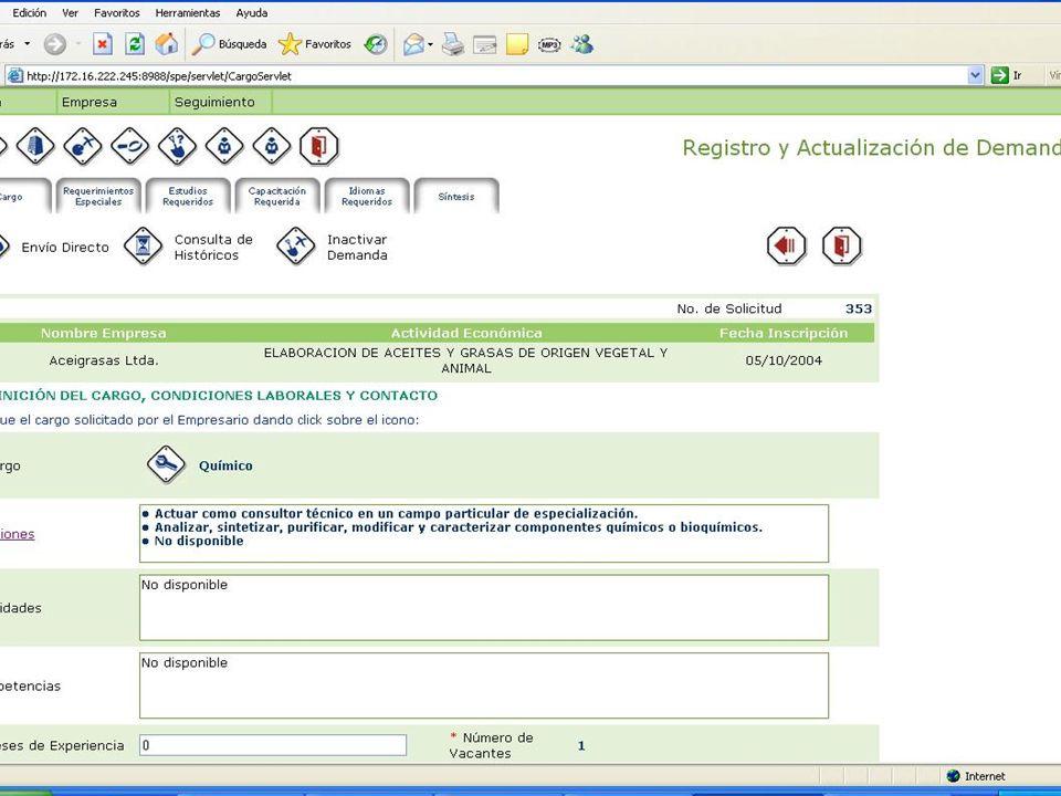 REPÚBLICA DE COLOMBIA MINISTERIO DE LA PROTECCIÓN SOCIAL II CONFERENCIA REGIONAL ANDINA SOBRE EMPLEO - NOVIEMBRE DE 2005