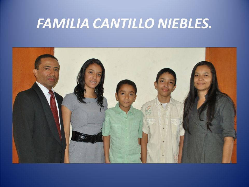 FAMILIA CANTILLO NIEBLES.
