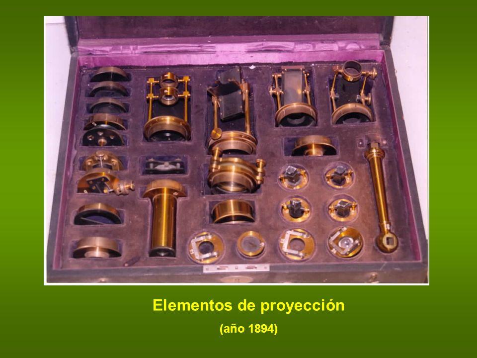 Elementos de proyección (año 1894)