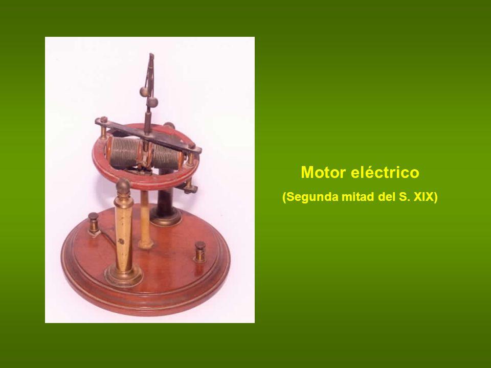 Motor eléctrico (Segunda mitad del S. XIX)