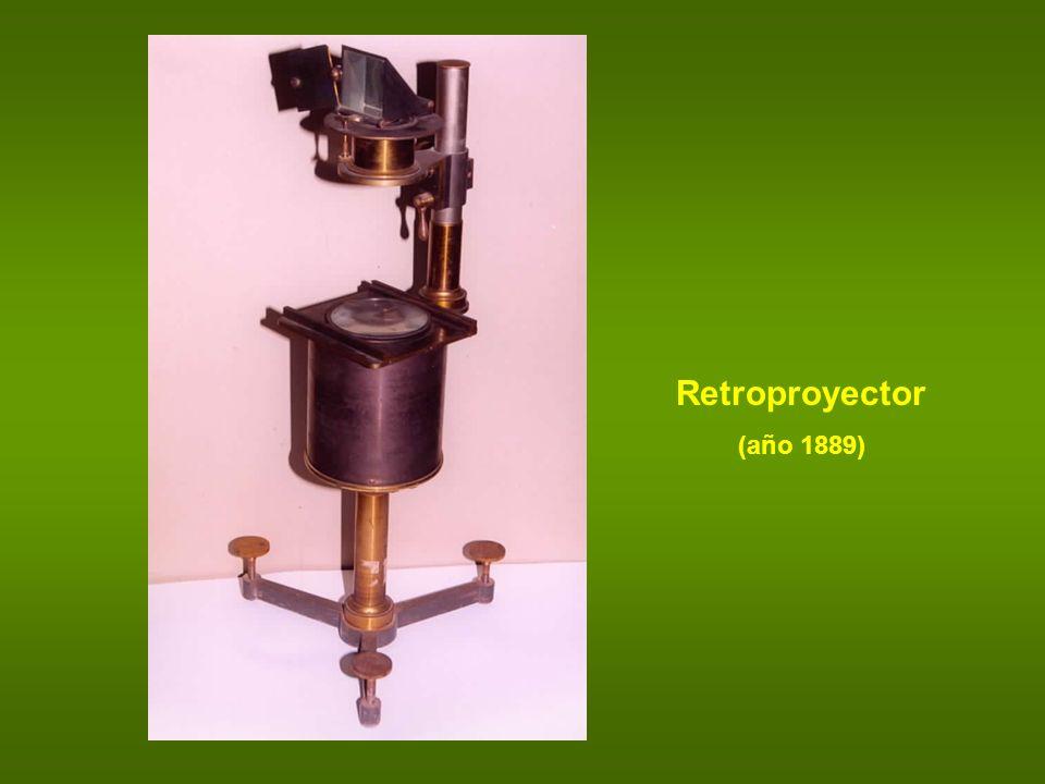 Retroproyector (año 1889)