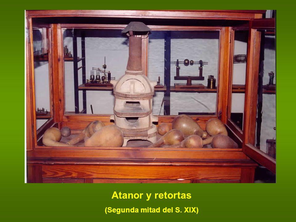 Atanor y retortas (Segunda mitad del S. XIX)