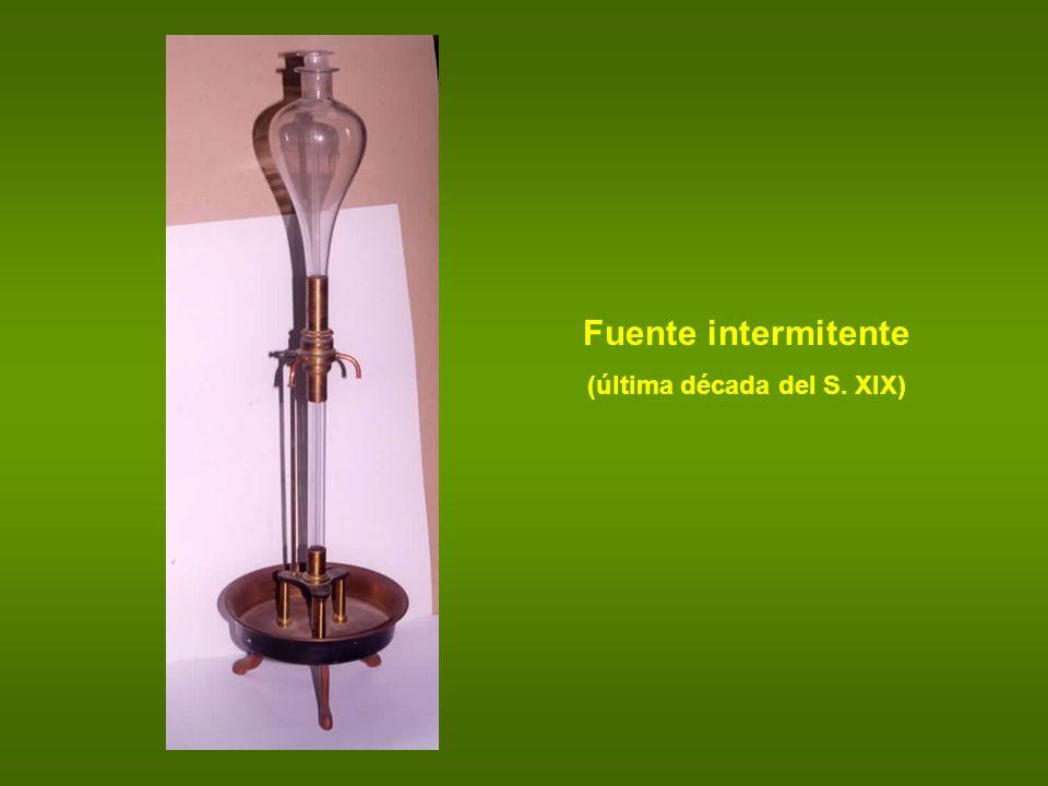 Fuente intermitente (última década del S. XIX)