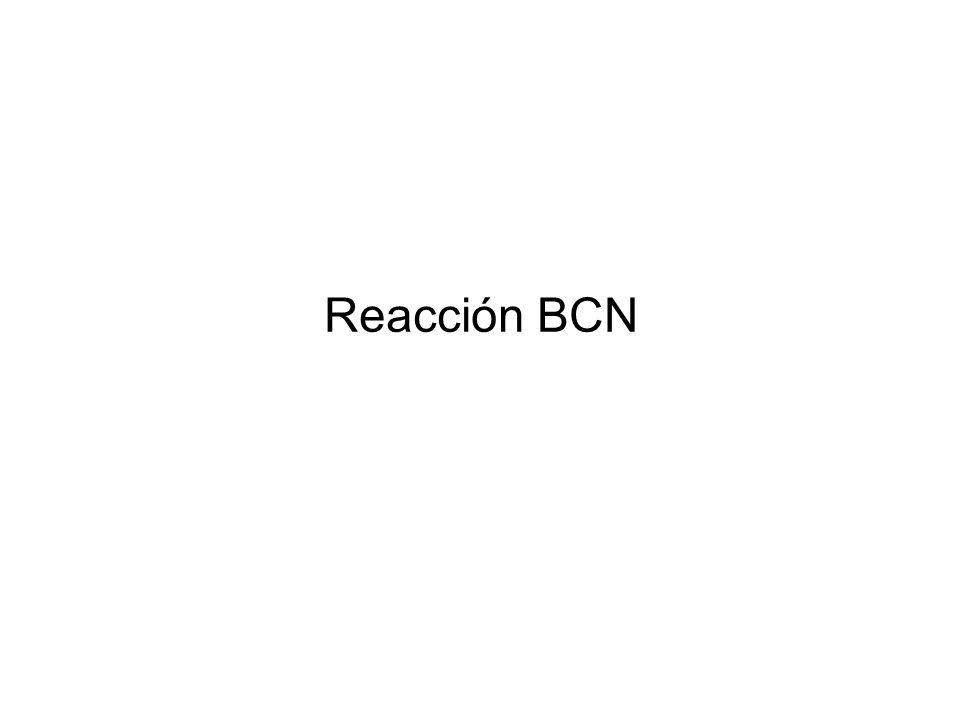 Reacción BCN