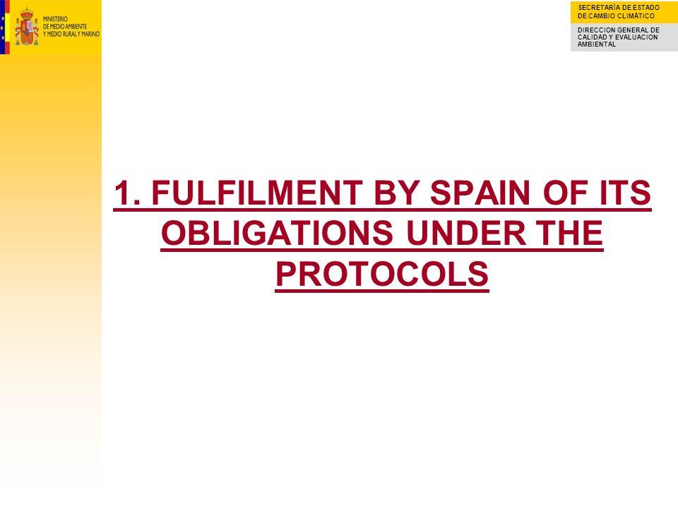 SECRETARÍA DE ESTADO DE CAMBIO CLIMÁTICO DIRECCION GENERAL DE CALIDAD Y EVALUACION AMBIENTAL NMVOC EMISSIONS: 1990-2006 Spanish commitments under both the NOx and NMVOC Protocols have not been to date fulfilled.