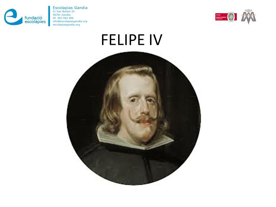 Felipe IV de Austria (o Habsburgo) llamado el Grande o el Rey Planeta, fue rey de España 2 desde el 31 de marzo de 1621 hasta su muerte, y de Portugal desde la misma fecha hasta diciembre de 1640.rey de España 231 de marzo1621Portugaldiciembre1640