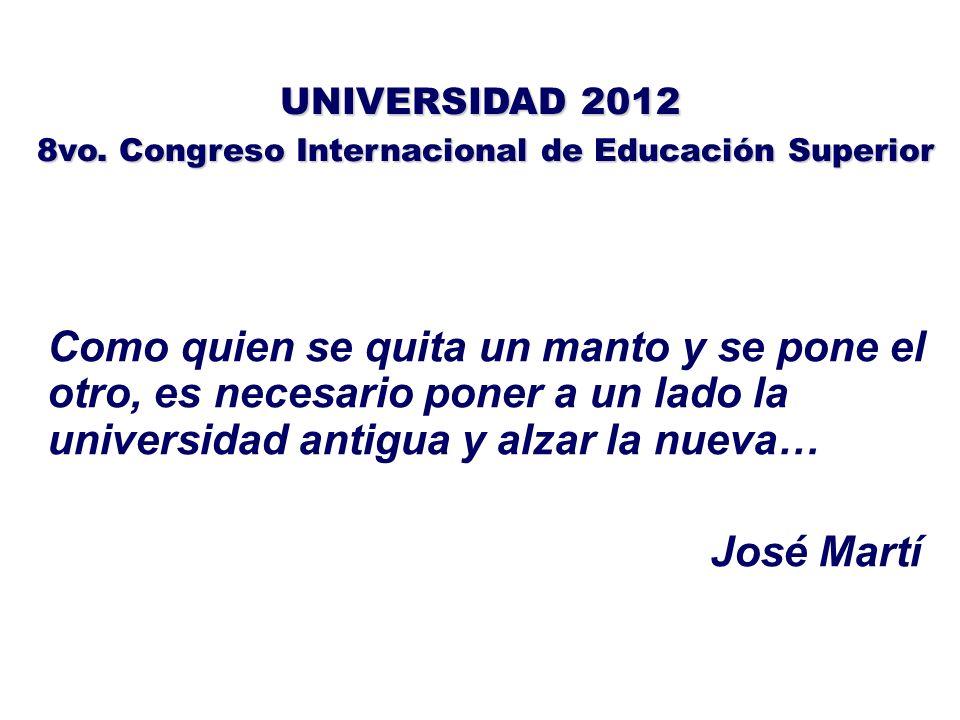 TEMATICAS: 1.Respuesta de la universidad a las demandas del desarrollo en los medios rurales y locales y el entorno internacional.