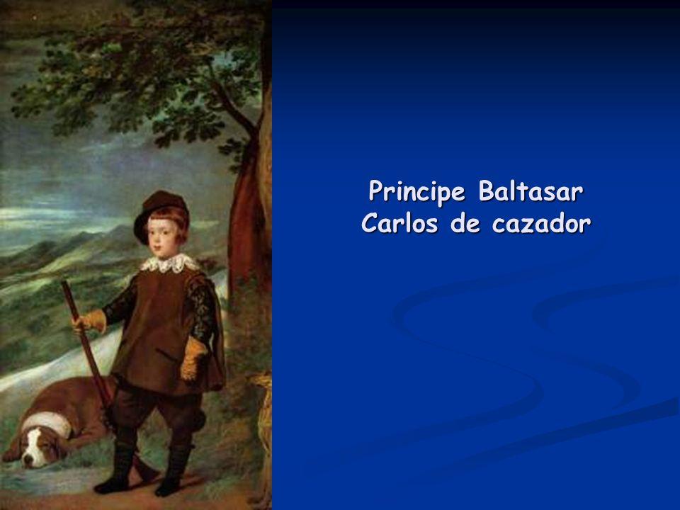 Principe Baltasar Carlos de cazador