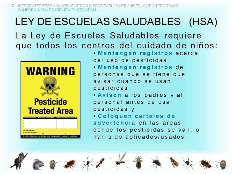 INTEGRATED PEST MANAGEMENT TOOLKIT FOR EARLY CARE AND EDUCATION PROGRAMS CALIFORNIA CHILDCARE HEALTH PROGRAM PREOCUPACIONES EN EL USO DE PESTICIDAS La resistencia de las plagas Salud Poblaciones vulnerables Daño ambiental 19 Las plagas pueden ser resistentes en.wikipedia.org/wiki/Fileen.wikipedia.org/wiki/File:Pest_resistance_labelled _light.svg