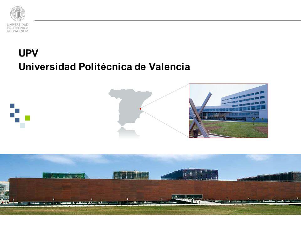 UPV Universidad Politécnica de Valencia