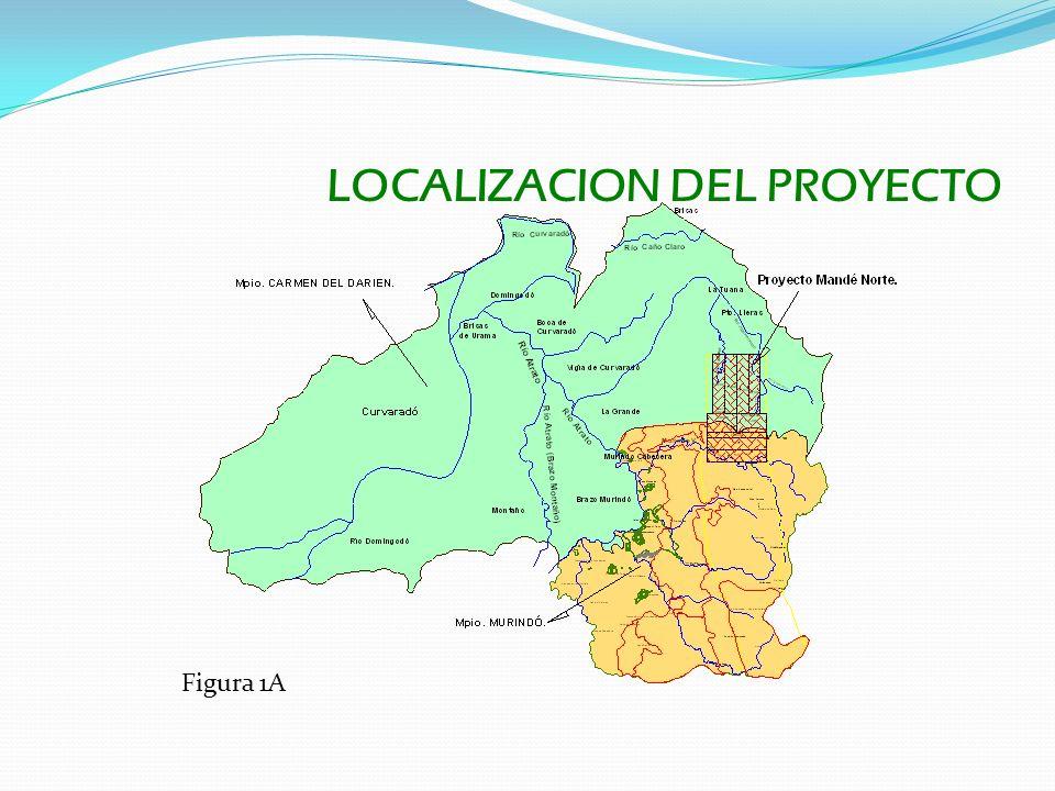 LOCALIZACION DEL PROYECTO Figura 1A