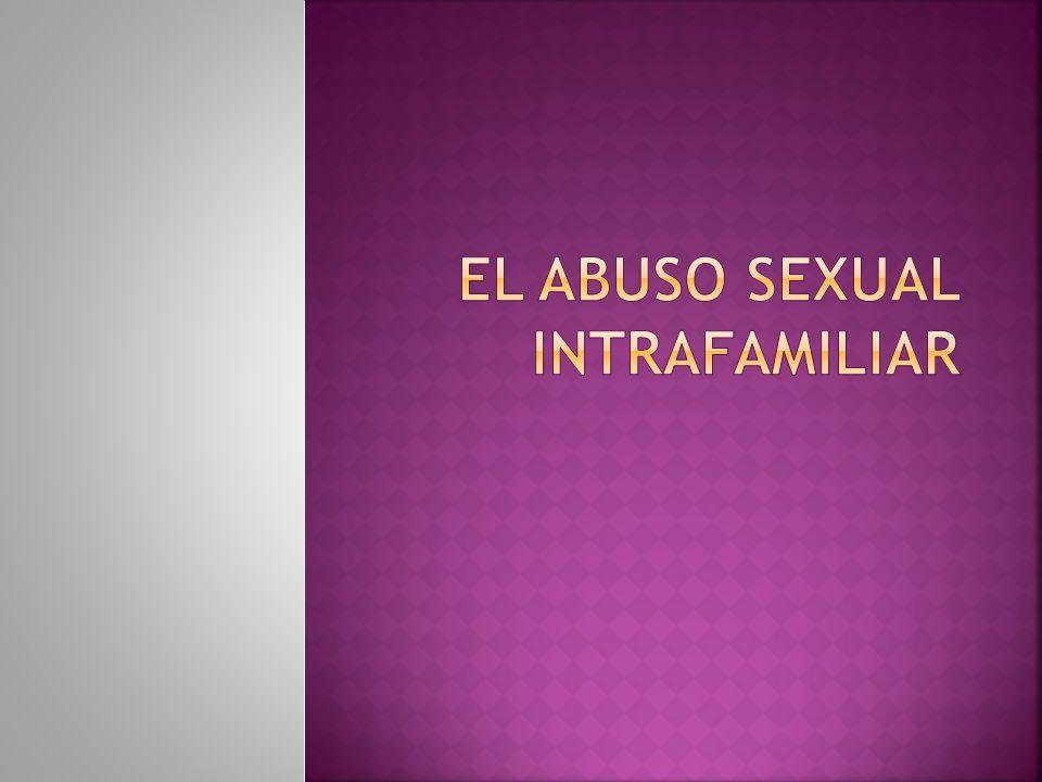 National Center for Child Abuse and Neglect, que define al abuso sexual en el año 1978.