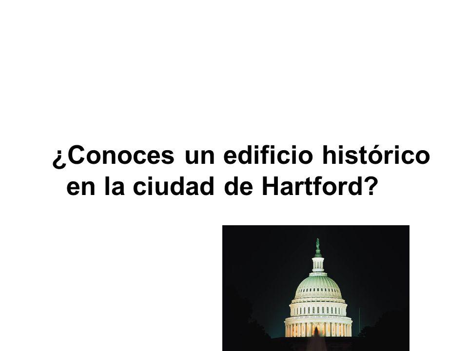 ¿Conoces un edificio histórico en la ciudad de Hartford?