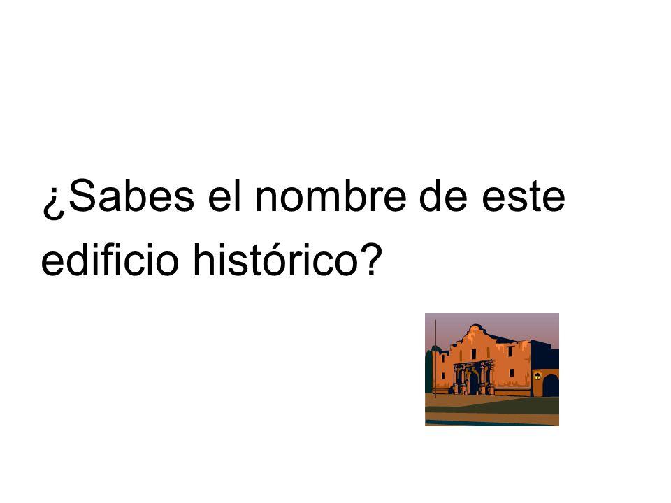 ¿Sabes el nombre de este edificio histórico?
