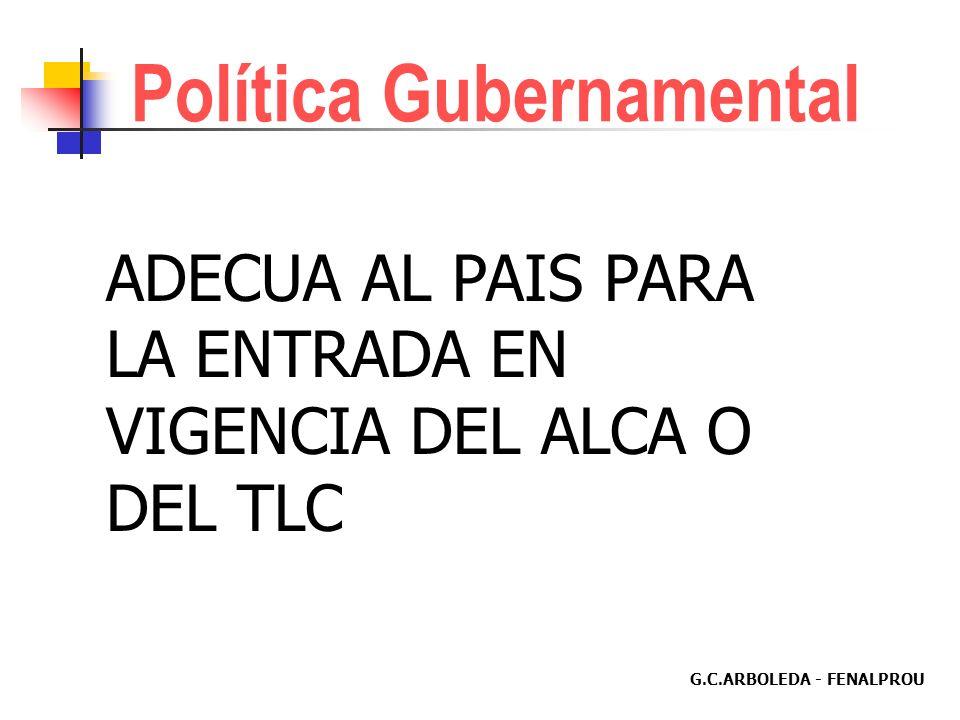 G.C.ARBOLEDA - FENALPROU Centro Internacional de Diferencias Relativas a Inversiones CIADI Señala procedimientos: Conciliación, Arbitraje o Mediación.