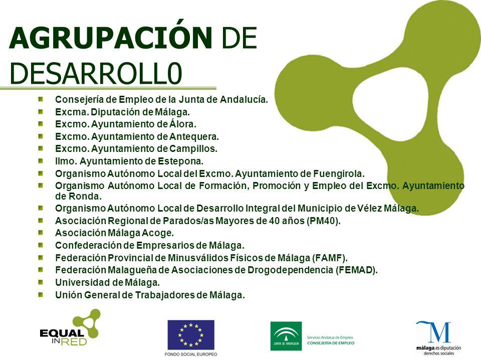 AGRUPACIÓN DE DESARROLL0 Consejería de Empleo de la Junta de Andalucía.