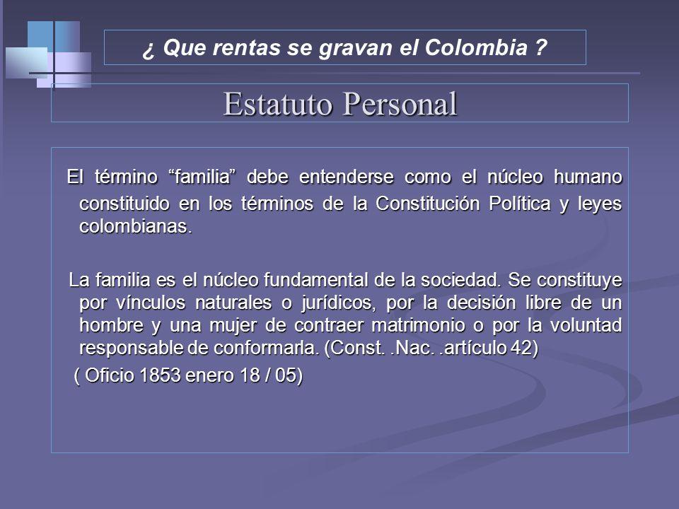 Estatuto Personal Residencia Residencia El artículo 10 define la residencia como la permanencia discontinua o continua en el país por más de 6 meses e