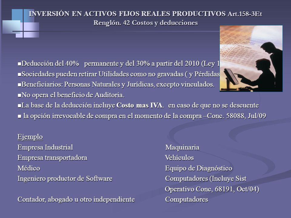 DECLARACION DE RENTA 2008 - PROFESIONALES INDEPENDIENTES Y COMISIONISTAS. Renglón 43. Otros costos y deducciones. 2-Intereses y corrección monetaria e