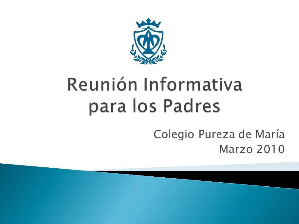 Colegio Pureza de María Marzo 2010