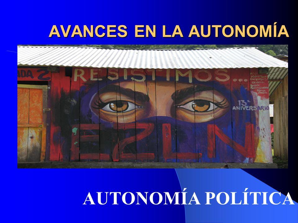 AUTONOMÍA POLÍTICA - MORELIA Donde el pueblo manda y el gobierno obedece.