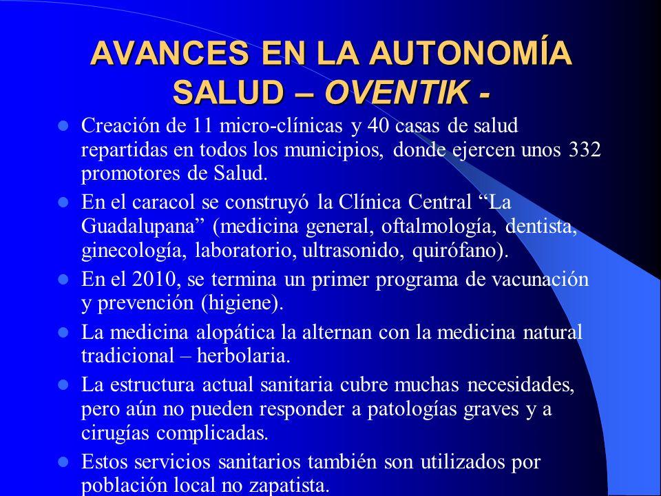 AVANCES EN LA AUTONOMÍA SALUD – LA GARRUCHA- Promotor@s de salud.