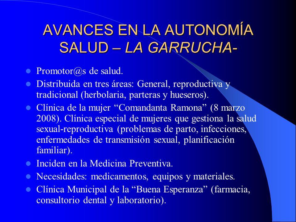 AVANCES EN LA AUTONOMIA SALUD – MORELIA- Promotor@s de salud.