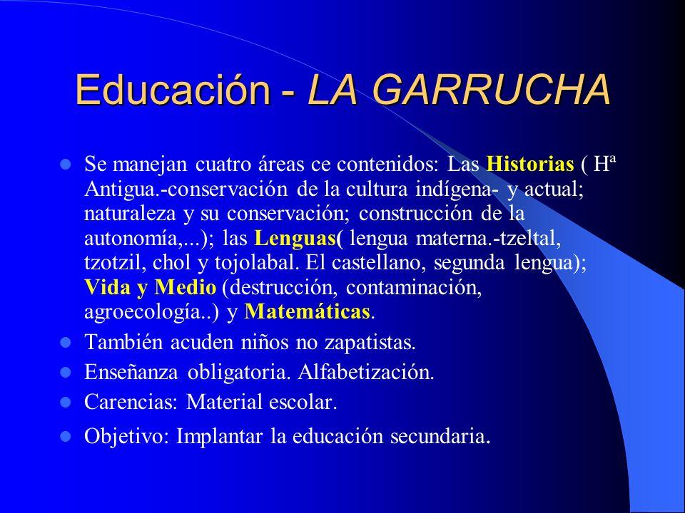 Educación - MORELIA Educación Primaria(3 niveles) y Secundaria (dura el tiempo que necesita cada alumno).