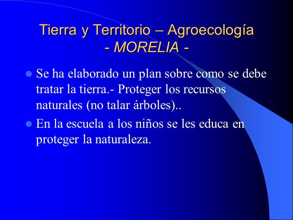 Tierra y Territorio – Agroecología - ROBERTO BARRIOS - El aprendizaje de la agroecología se lleva a cabo en la CCETAZ a través de los Promotores.