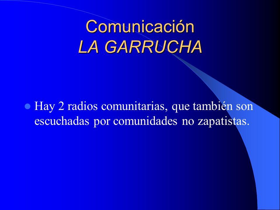 Comunicación MORELIA Cada municipio tiene su radio comunitaria (hay promotores de comunicación).