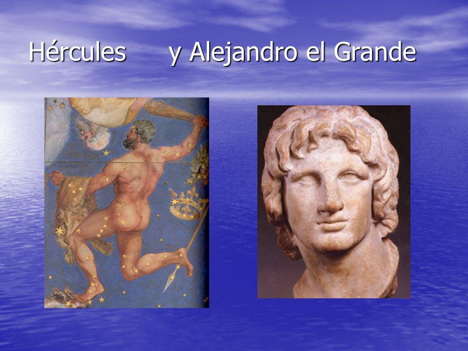 Hérculesy Alejandro el Grande