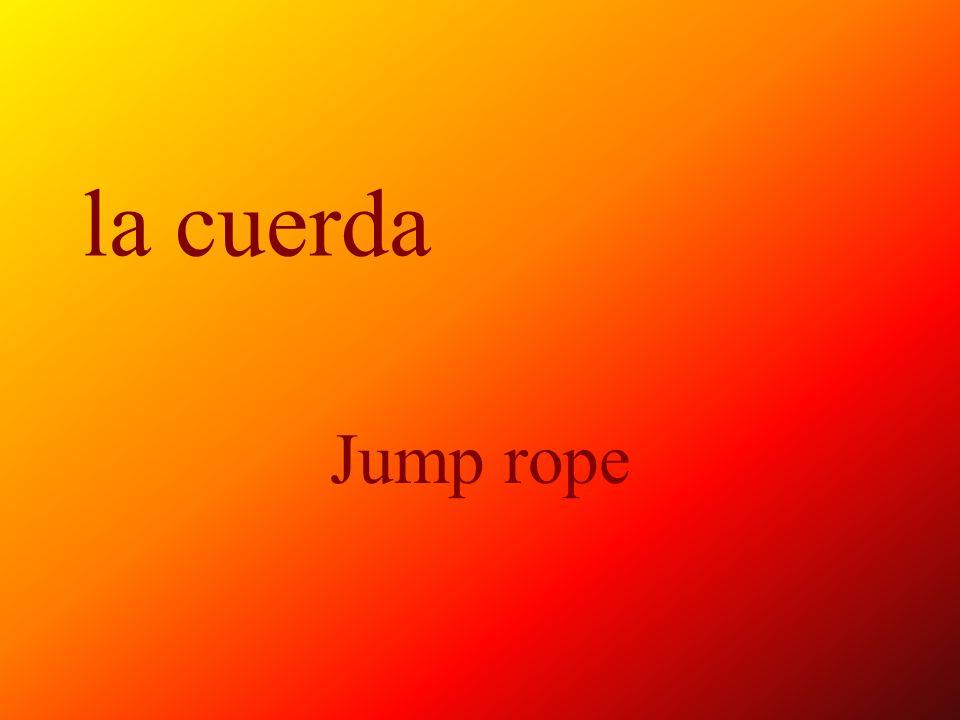 la cuerda Jump rope