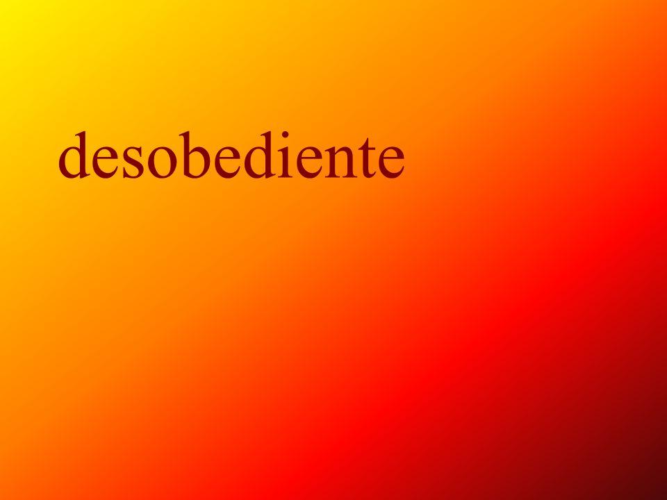 consentido, -a
