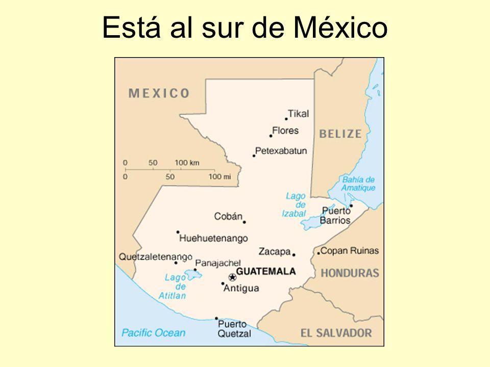 La capital se llama Ciudad de Guatemala