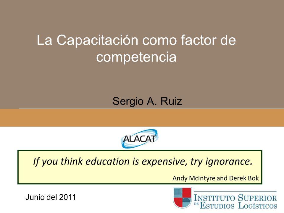 Instituto Superior de Estudios Logísticos México Sergio A.