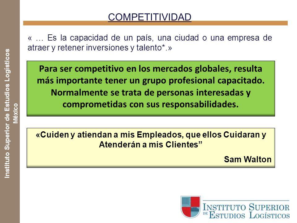 Instituto Superior de Estudios Logísticos México CONTENIDO CONTENIDO 1.Tendencias logísticas y sus efectos en la capacitación 2.Tipología de la capaci