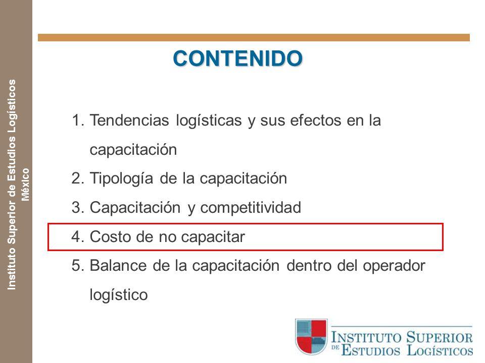 Instituto Superior de Estudios Logísticos México ¿Cuál es el costo de NO capacitar? Un estudio longitudinal realizado por la American Society of Train