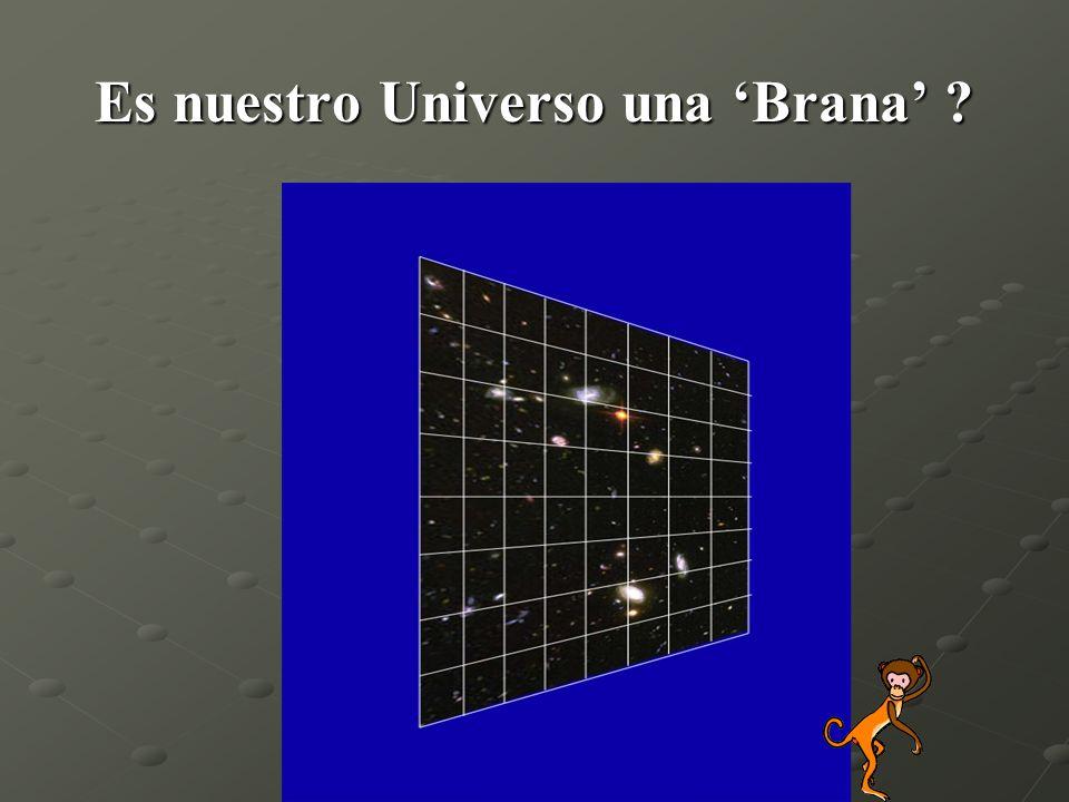 Es nuestro Universo una Brana ?