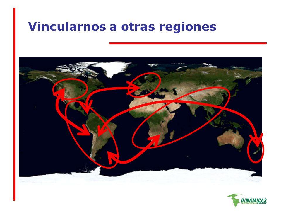 Vincularnos a otras regiones
