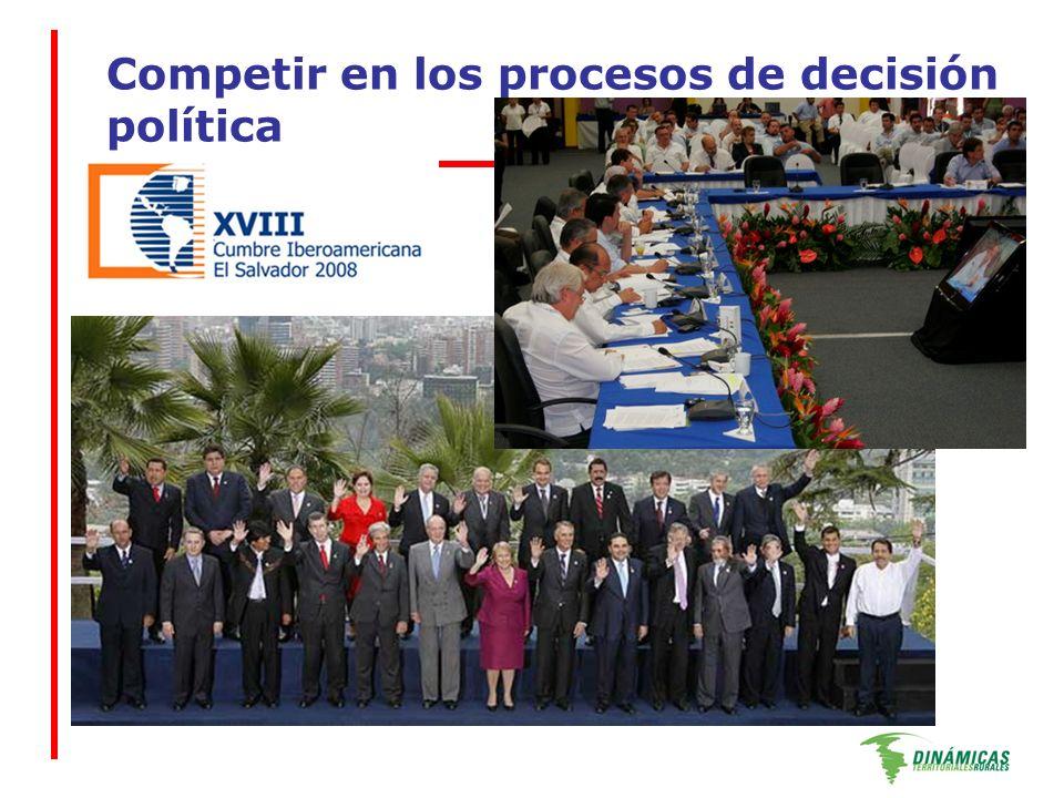 Competir en los procesos de decisión política