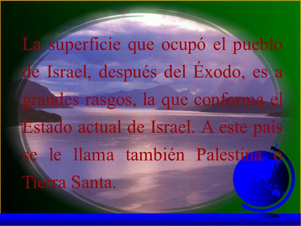 La historia de la Biblia tiene como escenario un extenso territorio del Oriente Medio: El creciente fértil. Como su nombre lo indica, posee un suelo f