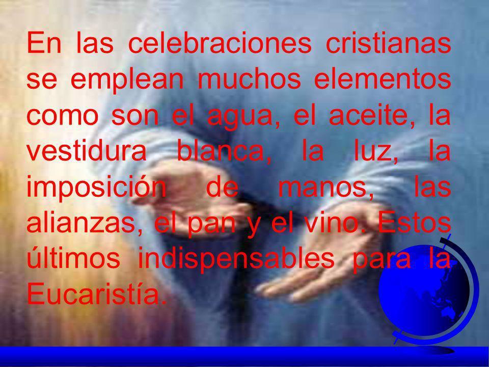 Todas las religiones realizan actos sagrados como expresión de la fe en la divinidad. Por eso los cristianos, siguiendo la tradición de las Sagradas E