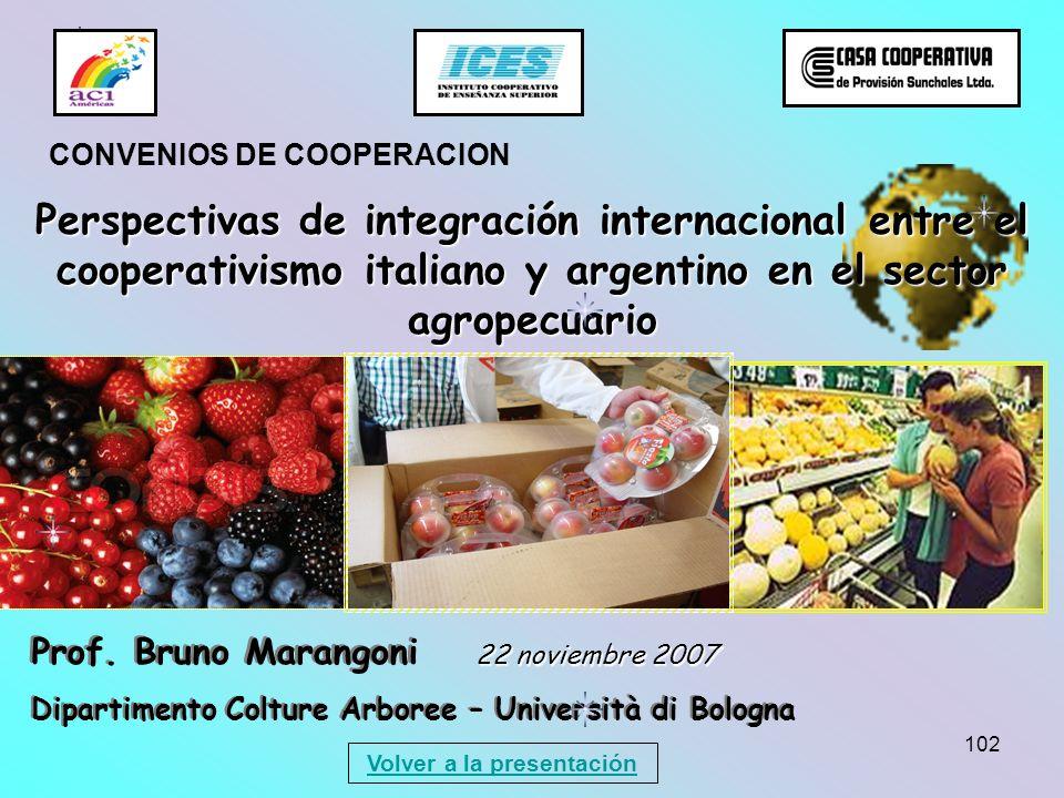 102 Prof. Bruno Marangoni Dipartimento Colture Arboree – Università di Bologna Prof. Bruno Marangoni Dipartimento Colture Arboree – Università di Bolo
