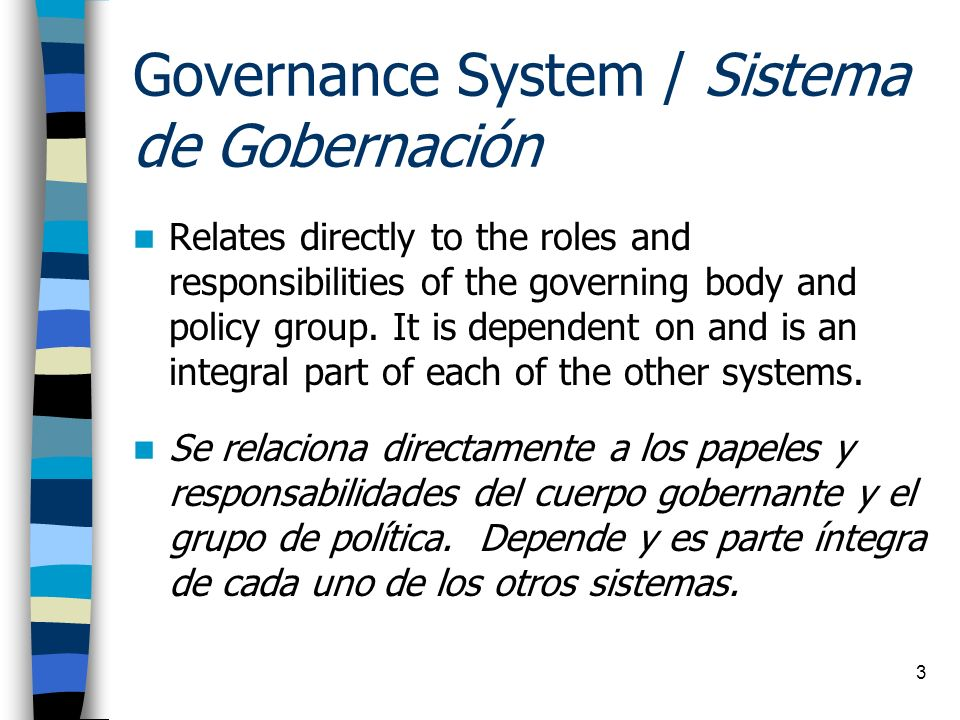 14 Responsibilities of the Governing Body Responsabilidades del Cuerpo Gobernante Determine new services and monitor ongoing programs and services.