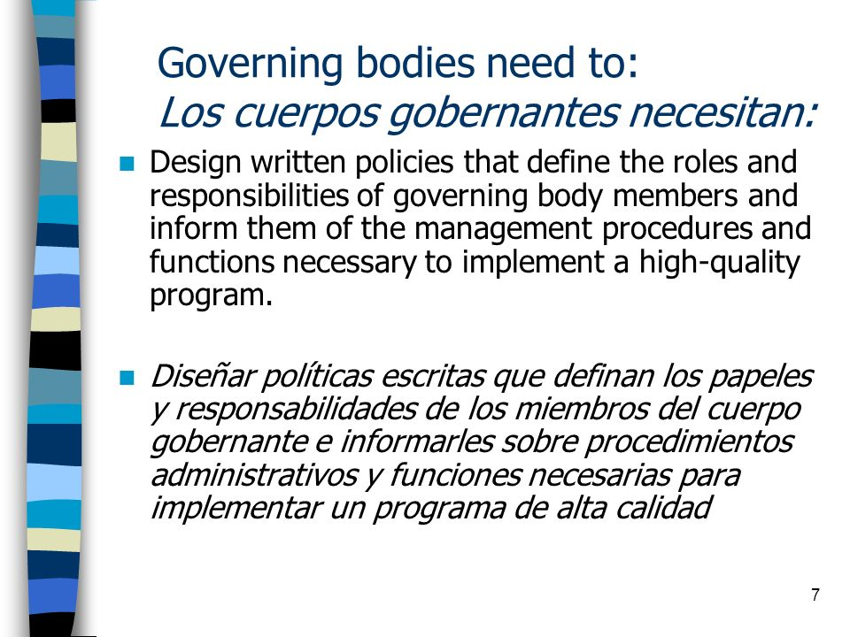 18 Policy Council (PC) Concilio Político (PC) Annually, Head Start parents nominate and elect other Head Start parents to participate on the Policy Council.