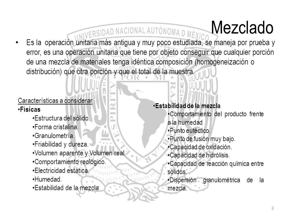 9 Mezclado Equipos Comúnmente llamados mezcladores.