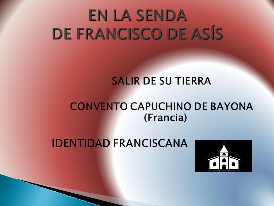 ALTERNATIVAS: No había religiosos en España Era el responsable de sus hermanas ¿Trapense, cartujo o Capucino?