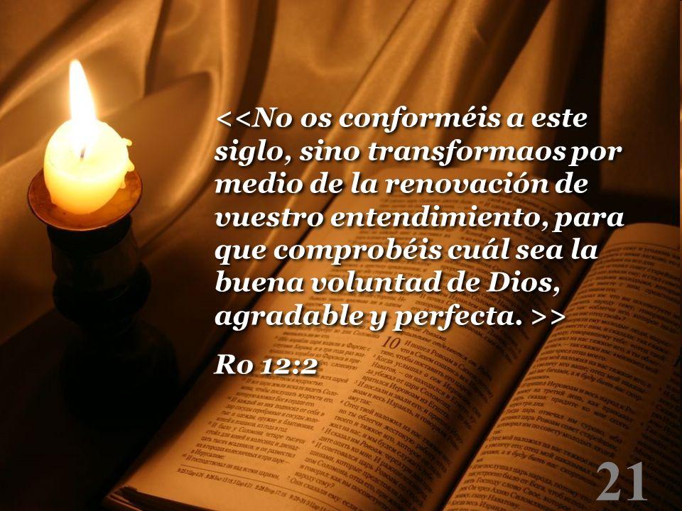 21 > Ro 12:2 > Ro 12:2