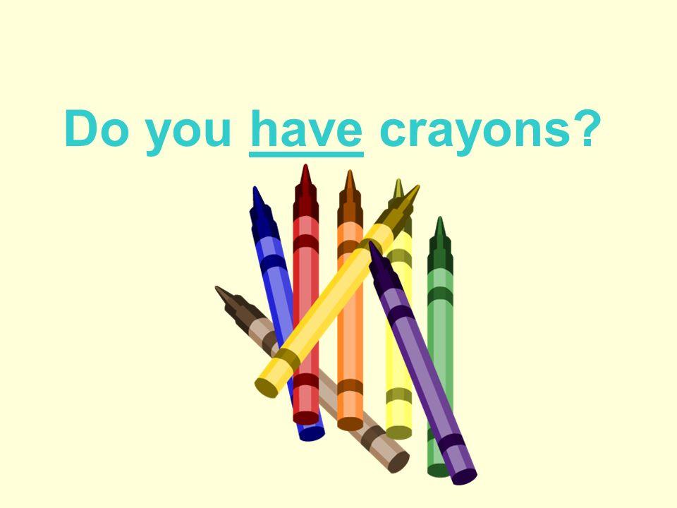 Do you want a pen?