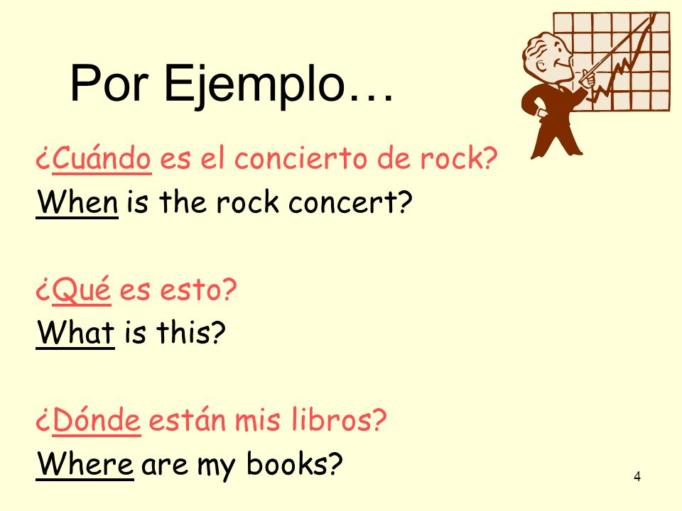 There are many ways to ask questions in Spanish and using question words is one of them! ¿Cuál es tu mochila? Which (one) is your backpack?